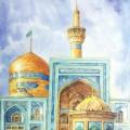 نگارخانه متننگار 613KB استاد رضا بدرالسماء  امام رضا (ع)