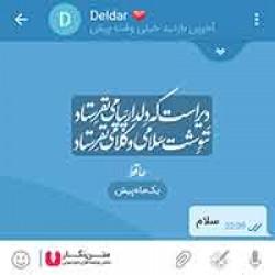 تصاویر نگارخانه متن نگار , دیر است که دلدار پیامی نفرستاد ننوشت سلامی و کلامی نفرستاد  #حافظ