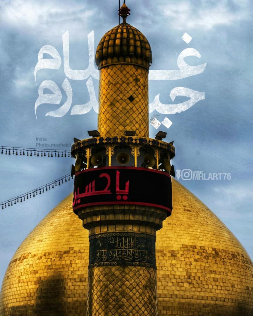 محمدرضا لطفی - غلام حیدرم❤️❤️ #Mrlart76
