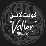 """فونت لاتین """"Vallen"""""""