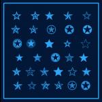 سمبل تزئینی ستاره