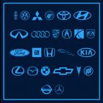 سمبل لوگو کمپانی های خودرو سازی