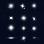 مجموعه برچسب اشعه نوری