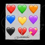 نُه عدد ایموجی قلب ایفون!