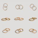 مجموعه برچسب حلقه ازدواج