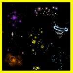 تکسچر ستاره نورانی