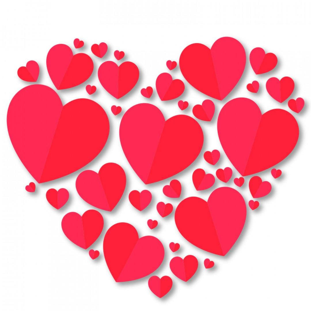 Heart sticker 2