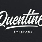 قلم انگلیسی Quentine Typeface