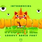 قلم انگلیسی Unicorn Monster