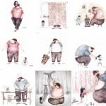 مجموعه تصاویر پدر دختری