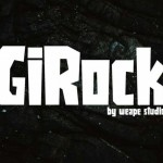 فونت انگلیسی Girock